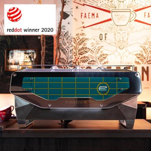 President咖啡机获2020年红点设计大奖殊荣